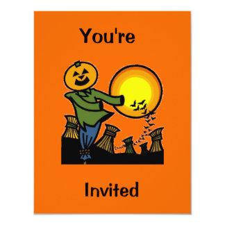 Espantalho, você é, convidado convite 10.79 x 13.97cm