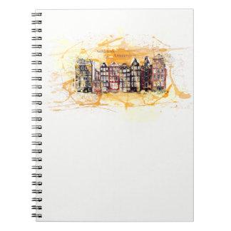Espécie caderneta. Amesterdão, Os Países Baixos, Cadernos