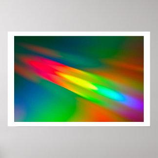 Espectro de cor pôster
