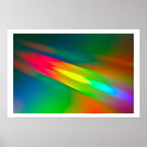 Espectro de cor pôsteres
