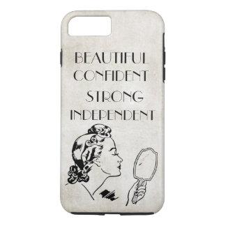 Espelho retro bonito,… iPhone7 forte da mulher Capa iPhone 7 Plus