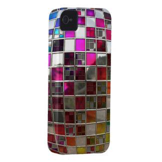 Espelhos da bola do disco do arco-íris capa para iPhone