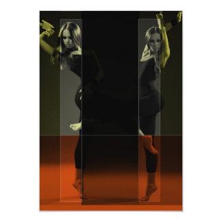 Espelhos da dança convites personalizado