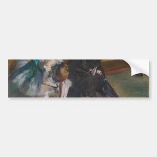 Espera por Edgar Degas Adesivo