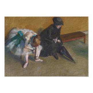 Espera por Edgar Degas Convite