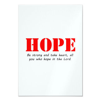 Esperança Convite 8.89 X 12.7cm