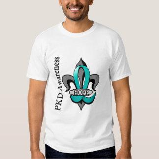 Esperança da flor de lis PKD Camiseta