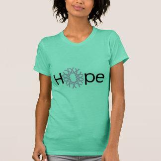 Esperança do cancro da mama camiseta