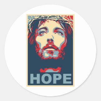 Esperança do Jesus Cristo Adesivo