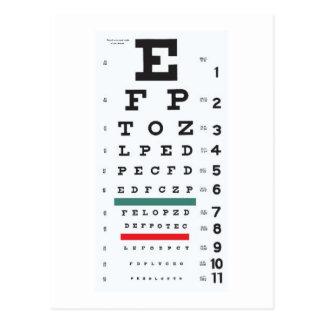 Esperança vê-lo logo: Carta de olho Cartão Postal