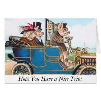 Esperança você tem uma viagem agradável! Cartão