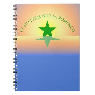 Esperanto: Apenas o caderno do começo