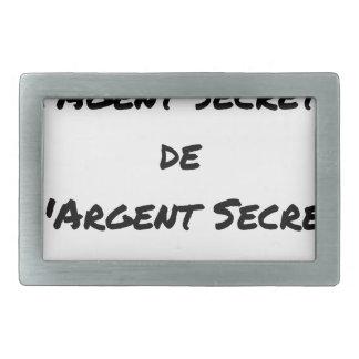 ESPIONAGEM: O AGENTE SEGREGA DINHEIRO SECRETO