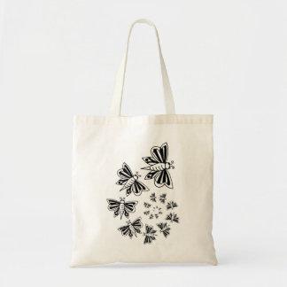 espiral da borboleta bolsas para compras