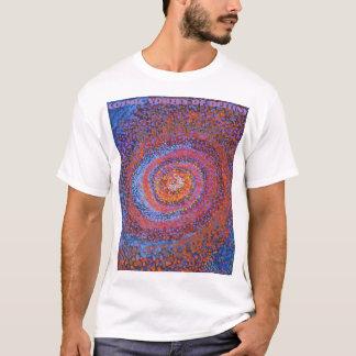 Espiral de Cosmis do destino - camisa de Abstratc