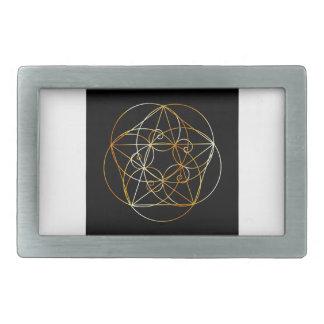 Espiral de Fibonacci a geometria sagrado