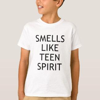 espírito adolescente camiseta