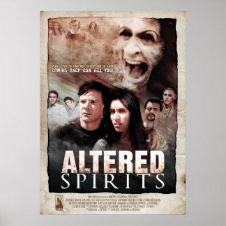 Espírito alterados - poster do horror