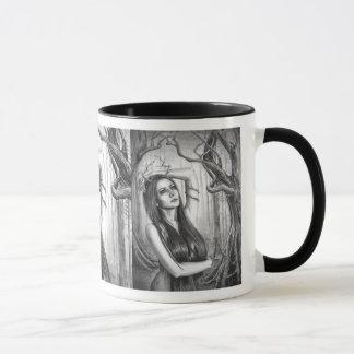 Espírito antigo da floresta da caneca da deusa da