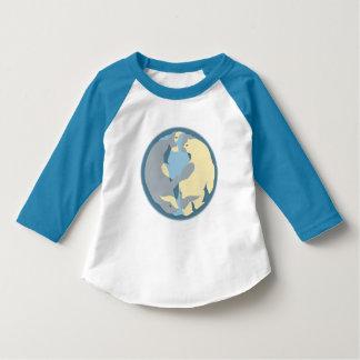 Espírito da camisa norte do jérsei da criança