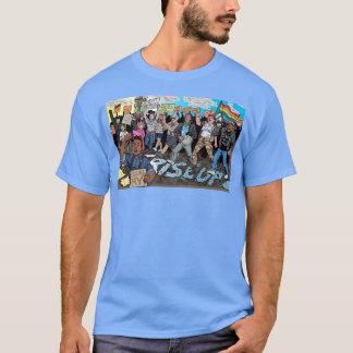 Espírito 'da camiseta de 17 homens (azul)