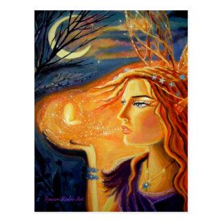 Espírito da floresta - cartão