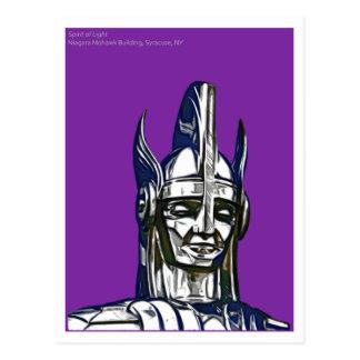 Espírito da luz, construção do Mohawk de Niagara, Cartão Postal