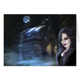 Espírito da noite, cartão