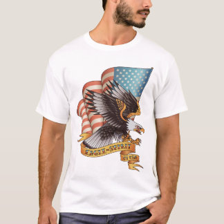 Espírito de Eagle dos EUA Camiseta
