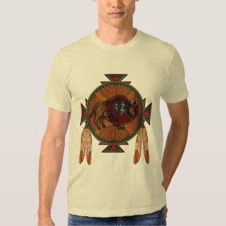 Espírito do búfalo camisetas
