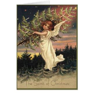 Espírito do cartão de Natal