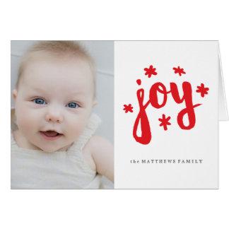 Espírito do fazer brilhantes cartão comemorativo
