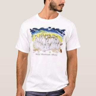 Espírito selvagem do mustang camiseta