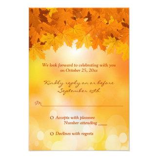 Esplendor do outono das folhas de bordo que convite