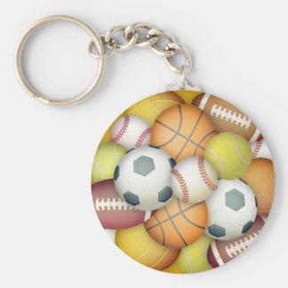 Esporte-bolas Chaveiro