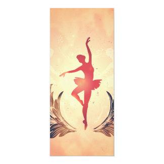 Esporte, dançarino de balé da silhueta