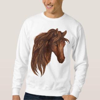 Esporte do cavalo dos cavalos moletom