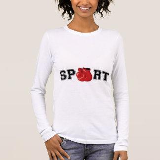 Esporte (encaixotamento) camiseta manga longa