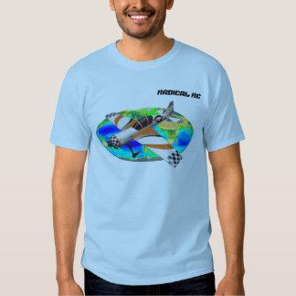 Esporte radical de RC Aerobatic T-shirts