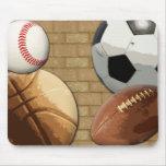 Esportes Al-Estrela, basquetebol/futebol/futebol Mouse Pad