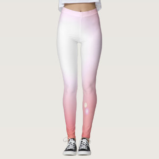 Esportes cor-de-rosa do exercício da forma das legging