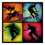 Esportes extremos poster