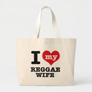 Esposa da reggae bolsa para compra