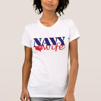 Esposa do marinho t-shirts