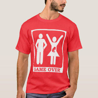 Esposa grávida - jogo sobre camiseta