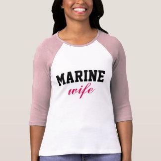 Esposa marinha tshirts