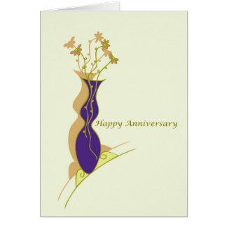 Esposo feliz do aniversário cartão comemorativo