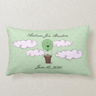 Espreite um nascimento do verde do bebé da vaia almofada lombar