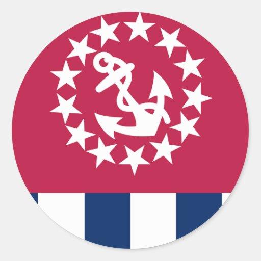 Esquadrões dos Estados Unidos Adesivos Em Formato Redondos