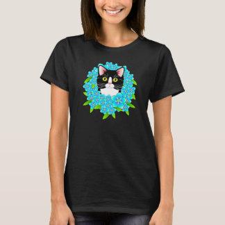 Esqueça-me não camisa customizável bonito do gato